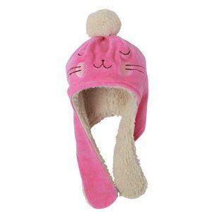 Zutano Velour Infant Bunny Hat